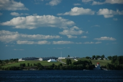 Kingston Fort Henry From Water #1439