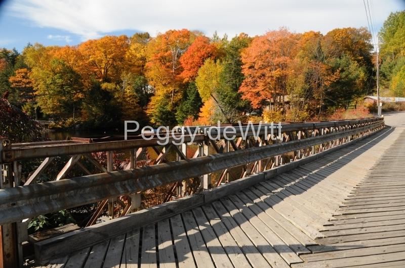 Parry Sound Burnside Bridge Wooden #2622