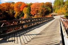 Parry Sound Burnside Bridge Fall #2621
