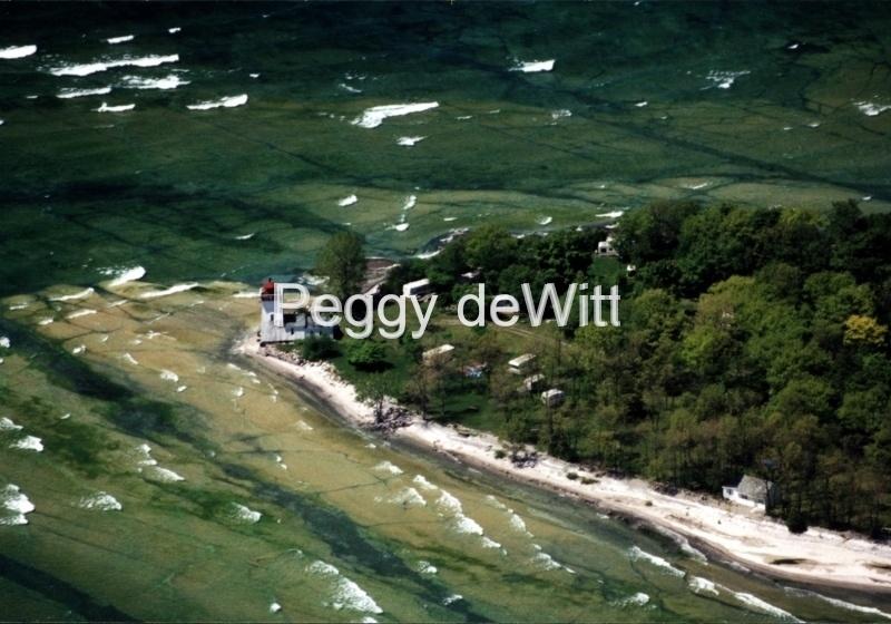 Lighthouse Salmon Pt Aerial #506