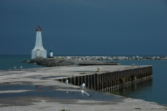 Lighthouse Cobourg Summer #1348