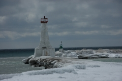 Lighthouse Cobourg Winter #1340