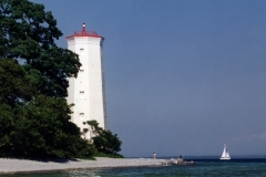 Lighthouse Presqu'ile Sailboat #427