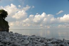 Little Bluff Pebbles Clouds #3291