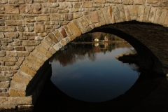Lyndhurst Brick Bridge Closeup #1301