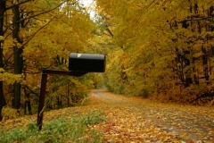 Mailbox Black #1186