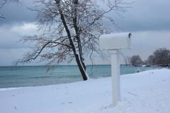 Mailbox Outlet Winter #1074 a