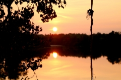 Milford Pond Sunset #3594