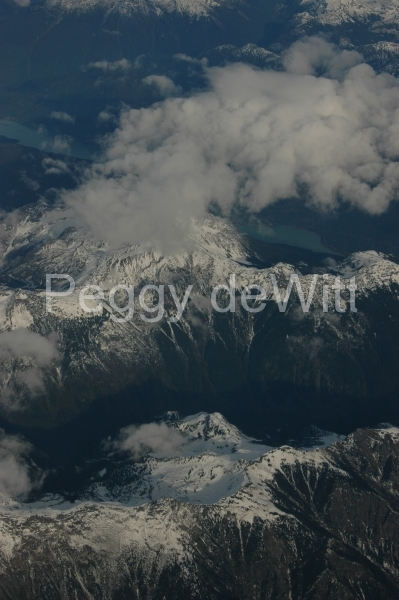Mountains Aerial Clouds #1271