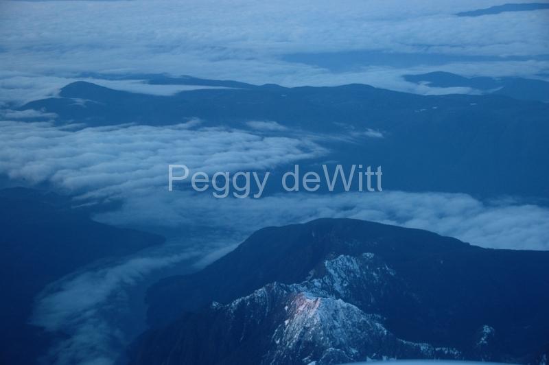 Mountains Aerial Fog 1 #1274