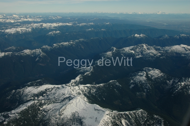 Mountains Aerial Vancouver #1270