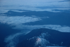 Mountains Aerial Fog 1 #1274