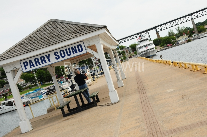 Parry Sound Pier Diagonal #2641