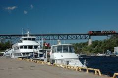 Parry Sound Cruise Boat Harbour #2626