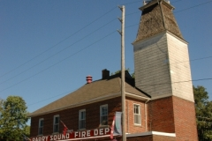 Parry Sound Fire Hall Old (v) #2629