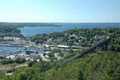 Parry Sound View From Lookout #2648