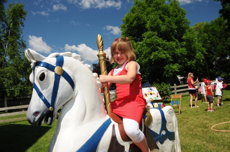 Canada Day Horse Girl #1995