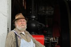 Ameliasburg Museum Wheelhouse Man #1982