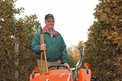 Apple Orchard Farmer #2650