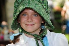 Pioneer Days Girl Green #2052