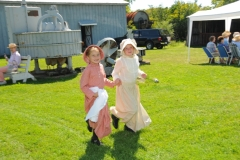Pioneer Days Girls Running #2054