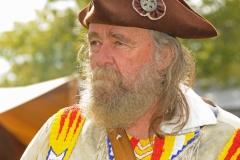 Pioneer Days Loyalist Man Closeup #2068