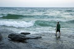 Sandbanks Waves Boy #1170