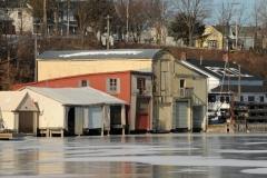 Picton Boathouse Winter #2196