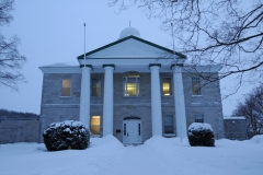Picton Courthouse Winter #2403