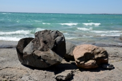 Pt Petre Rocks Two Waves #3319