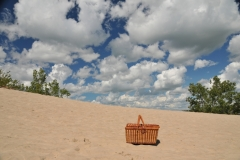 Sandbanks Dunes Picnic Basket Sky #3335