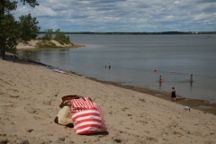 Sandbanks Dunes Striped Bag #3354