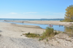 Sandbanks Outlet River Fall #3349