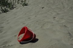 Sandbanks Red Bucket 2 #1061