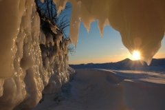 Sandbanks Sunset Winter #1920