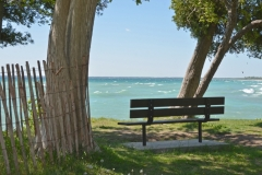 Sandbanks West Pt Bench #3384