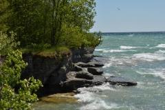 Sandbanks West Pt Shore Summer #3394