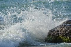 Sandbanks West Pt Splash #3385
