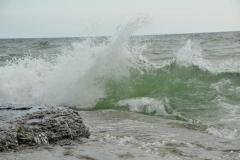 Sandbanks West Pt Splashes #3388