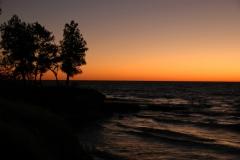 Sandbanks West Pt Sunset #1584
