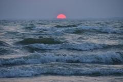 Sandbanks West Pt Sunset Horizon #3397
