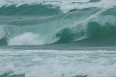 Sandbanks West Pt Waves Huge #3387