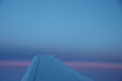 Airplane Wing Sky #1272