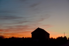Barn Sunset 2015 #3128