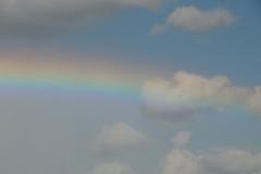 Sky Rainbow Clouds Niagra Falls #2251