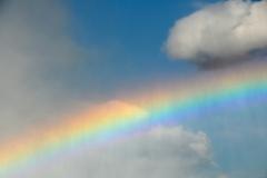 Sky Rainbow Niagra Falls #2253