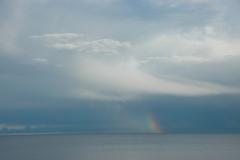 Sky Rainbow on Water #1916