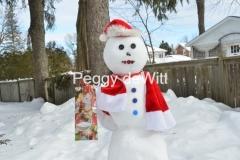 Snowman Christmas Gift #3490