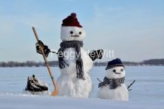 Snowmen-Hockey-with-Son-3843