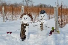 Snowmen Vineyard #3509